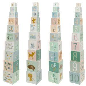 petit monkey forest friends klocki edukacyjne wieza piramida 10 elementow 2 300x300 - Wieża piramida Forest Friends