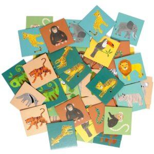 petit monkey jungle animals memory 2 300x300 - Gra dla dzieci Memory Jungle Animals