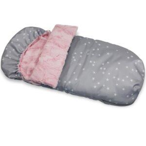Śpiwór zimowy Fur blush