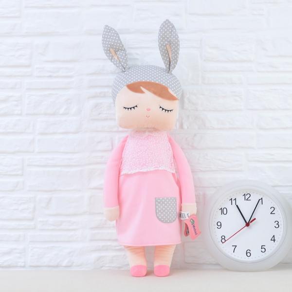 Pluszowa lalka Metoo różowa XL
