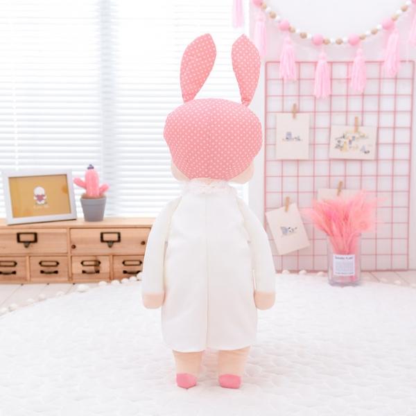 Pluszowa lalka Metoo biała XL