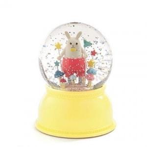 Kula śnieżna lampa króliczek