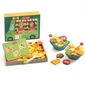 Drewniana zabawka kolorowe sałatki