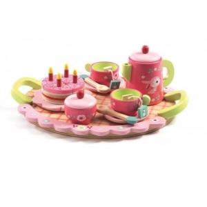 Drewniana zabawka zestaw urodzinowy