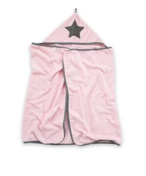 Różowy ręcznik dziecięcy bambusowy