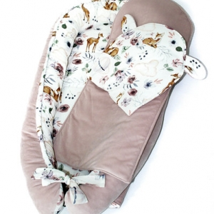 Poduszka niemowlęca leśni przyjaciele