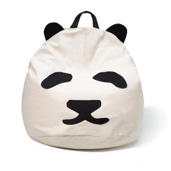 Pufa dziecięca panda b-boy