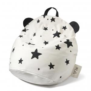 biniwithstars 300x300 - Pufa dziecięca panda i gwiazdy