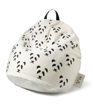 Pufa dla dzieci double pandas
