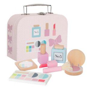 Kosmetyczka dziewczynki drewniana zabawka
