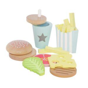 Zabawka zestaw do burgerów