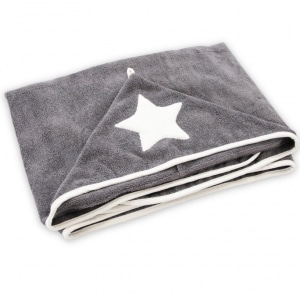 Ręcznik dziecięcy szary