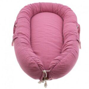 Kokon dla noworodka pink