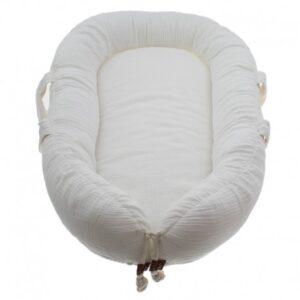 Kokon dla noworodka white