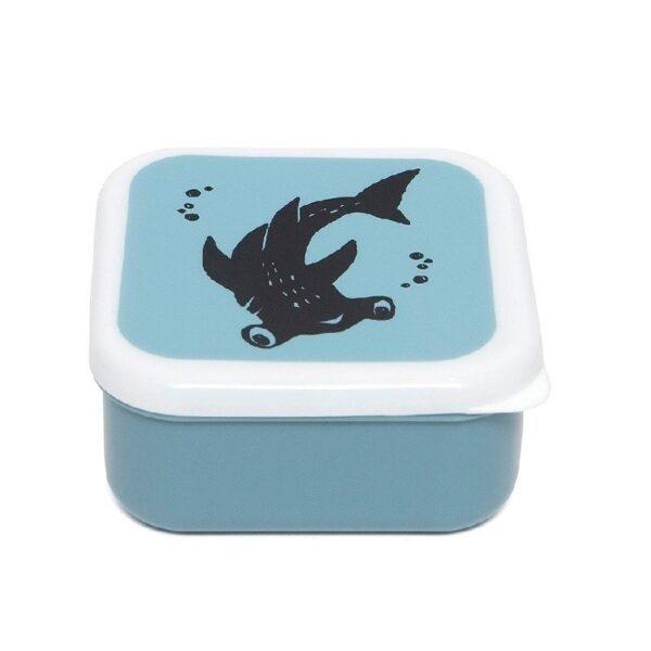 petit monkey zestaw 3 sniadaniowek lunchbox deep blue 3 600x600 - Śniadaniówka dla dziecka 3 szt Deep Blue