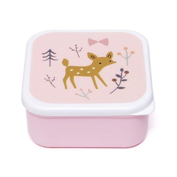petit monkey zestaw 3 sniadaniowek lunchbox przyjaciele z lasu 3 600x600 - Śniadaniówka dla dziecka 3 szt przyjaciele