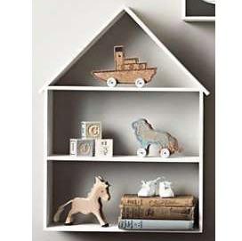 półka domek dla dziecka