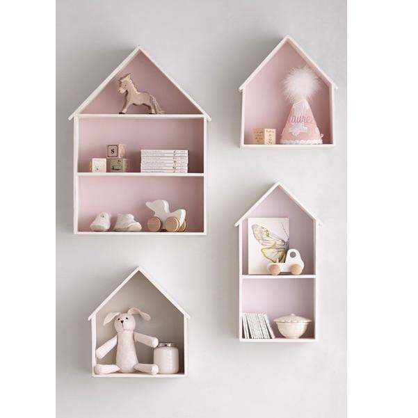 Półki domki dla dziecka zestaw