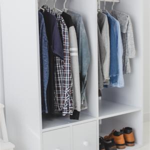 Garderoba szafa z szufladami dla dziecka