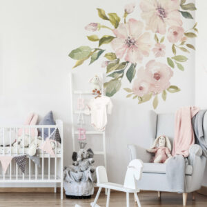 Naklejki na ścianę magnolie botanics
