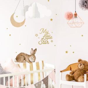 Copy of Copy of rabbit sleepy2 1 300x300 - Zestaw naklejek Króliczek Dekorniczek