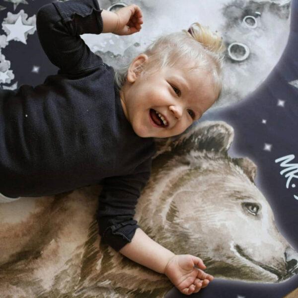 Naklejka na ścianę Niedźwiedź