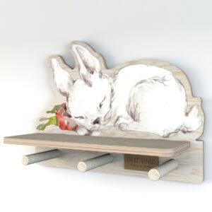 Półka do pokoju dziecięcego króliczek