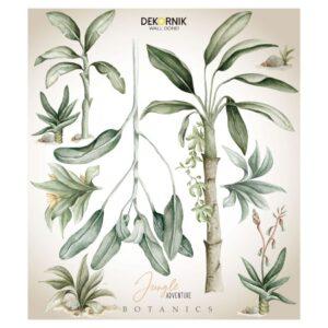 Naklejki na ścianę rośliny Jungle