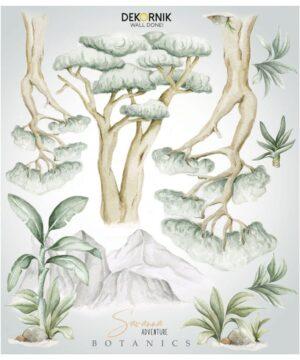 Naklejki na ścianę drzewa Jungle