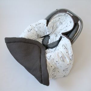 Otulacz do fotelika samochodowego Origami