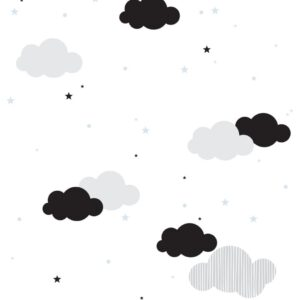 Tapeta w chmurki dla dzieci