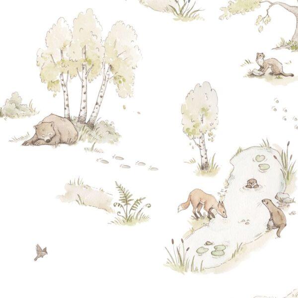 Kopia DEKO.TAP .072 PACK 600x600 - Tapeta na ścianę bajkowe zwierzątka