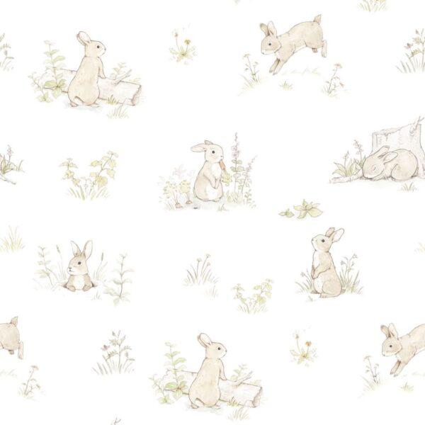Tapeta na ścianę króliczki