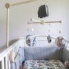 Karuzela nad łóżeczko leśne zwierzęta