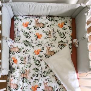 Las ochraniacz do lozeczka e 1000x1143 2 1 300x300 - Pościel do łóżeczka leśne zwierzęta