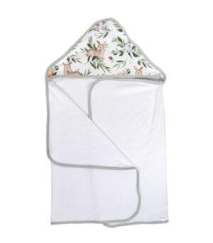 Ręcznik kąpielowy z kapturem leśne zwierzęta