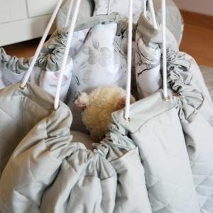Mata worek na zabawki Magnolia