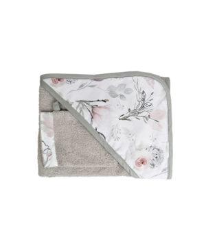 Okrycie kąpielowe dla dzieci magnolia
