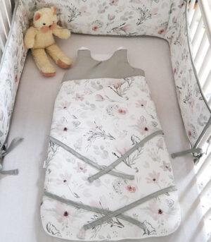 Śpiworek niemowlęcy do spania 80 cm Magnolia