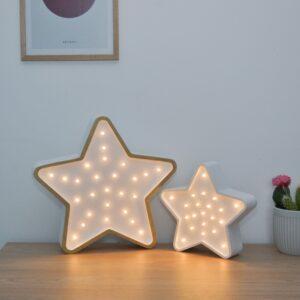 Lampka led dla dzieci gwiazdka
