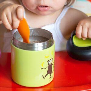 carl oscar temp lunch jar termos ze szlachetnej stali nierdzewnej grey spider 3 300x300 - Termos dla dzieci spider