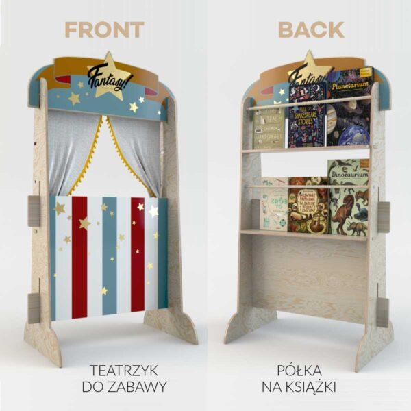 dekornik teatrzyk front back 600x600 - Teatrzyk dla dzieci Fantasy Theatre