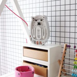 18 kotek5 300x300 - Lampa dla dzieci kotek szary
