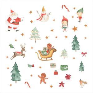 Naklejki świąteczne SW032