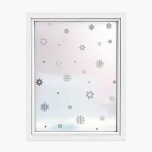 Naklejki świąteczne płatki śniegu SW025