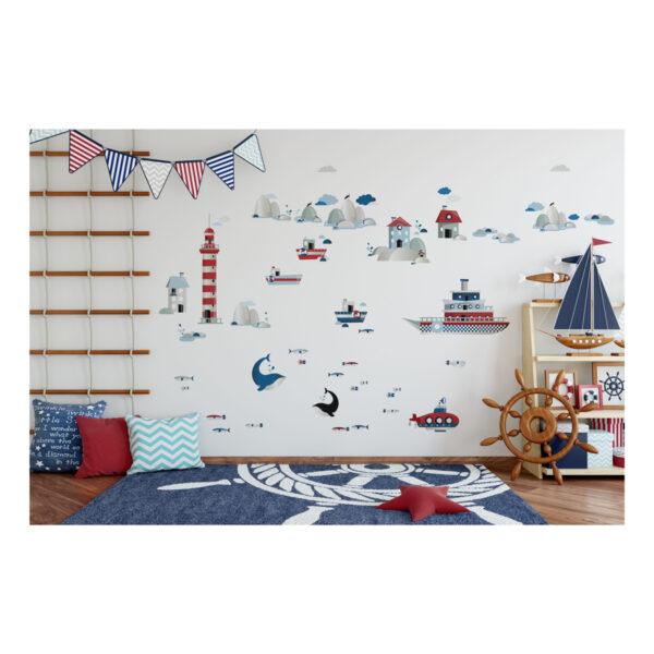 Naklejki na ścianę life by the sea