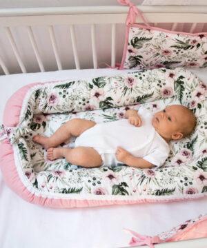 Kokon dla noworodka Peonia