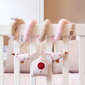 Zabawka interaktywna dla niemowląt Ptaszki