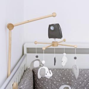 Karuzela nad łóżeczko Słoniki