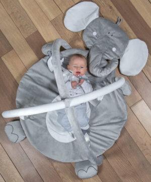 Mata edukacyjna dla niemowląt Słoniki